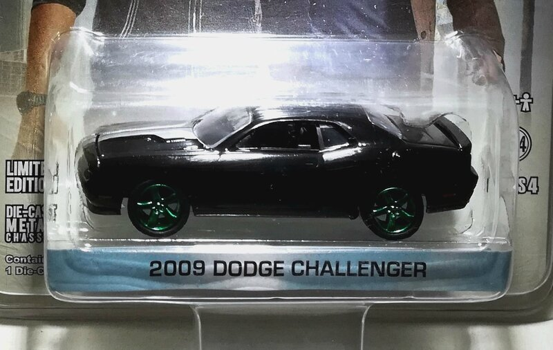 Dodge Challenger de 2009 (NCIS Los Angeles) Greenlight 01