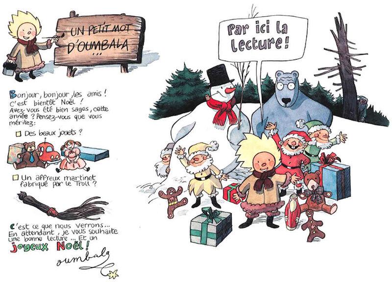 """Extrait de la BD """"Catastrophes au pays du Père-Noël"""" de Frank LE GALL"""
