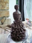 Anabella,sculpture,modelage,céramique,terre,argile,raku,silhouette,espagnle,femme,statuette,statue,grès (10)