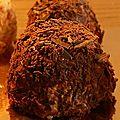 Mini merveilleux caramel beurre salé ou chocolat