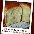 Hokkaido, pain au lait japonais