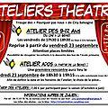 Ateliers theatre 2016-2017