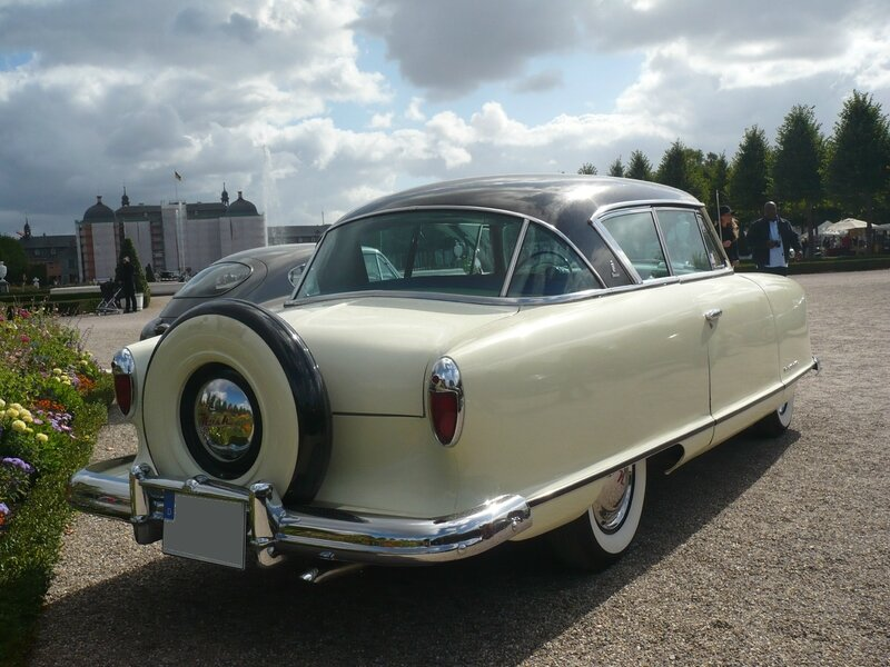 NASH Rambler Country Club 2door coupé 1954 Schwetzingen (2)