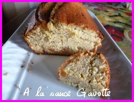 cake banane 1