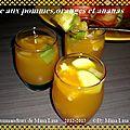 Gelée aux pommes,oranges et ananas