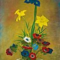 Mai trung thu (1906-1980), fleurs (flowers)