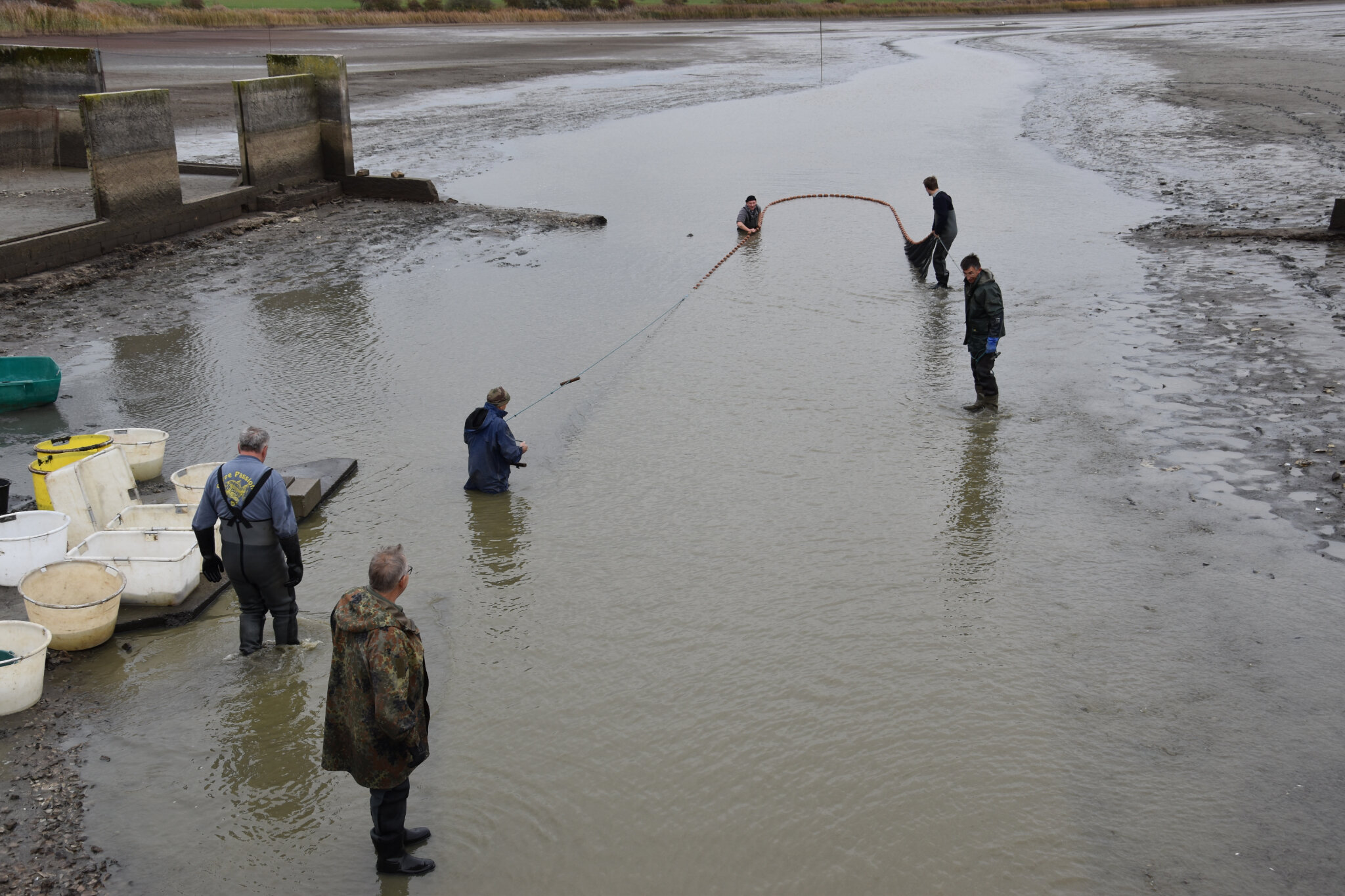 C'est parti pour la pêche de l'étang du moulin
