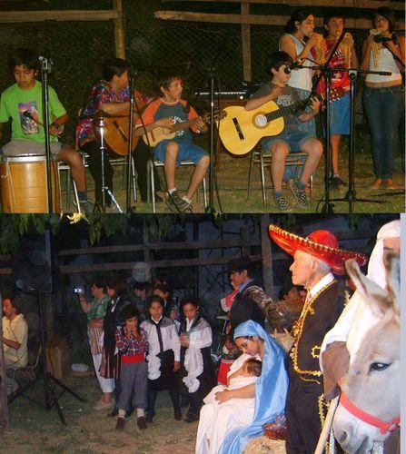 En la casa de la Cueca, una representación Navideña a la cual participamos