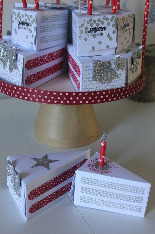 Gâteau Stampin up (5)