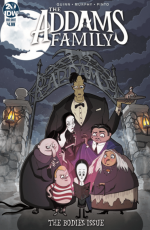 IDW addams family the bodies issue