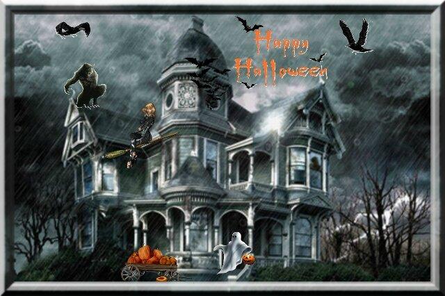 Maison halloween 2