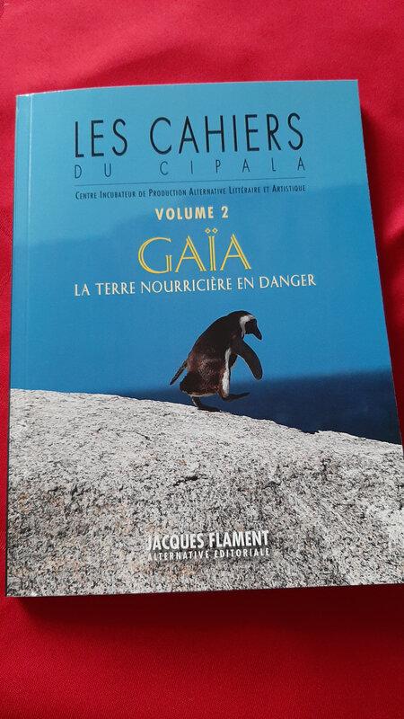 Dans les cahiers du Cipala Volume 2, Gaïa, la terre nourricière en danger, un texte de C.-L. Desguin