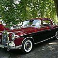 MERCEDES 220 S coupé 1957 Baden Baden (1)