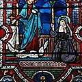 La bénédiction du Christ à une religieuse