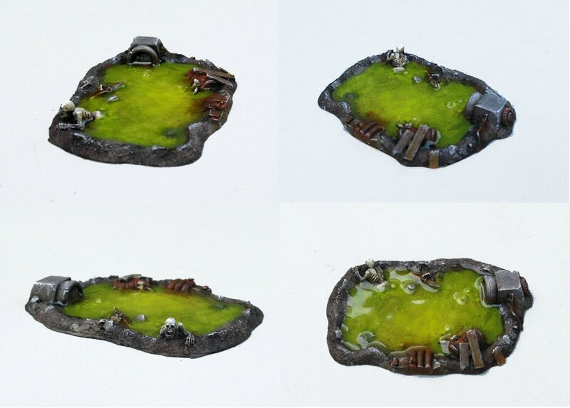zone contaminee eden scenery decor miniature bostal