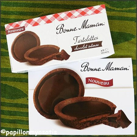 tartelettes chocolat intense Bonne Maman