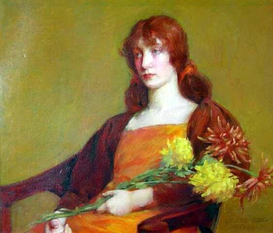 cox louise howland roi lady-with-flowers