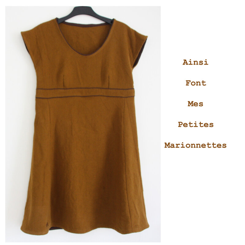 robe toile moutarde (1)