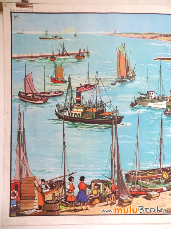 AFFICHE-MDI-Port-de-pêche-2-muluBrok-Vintage
