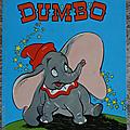 Livre album ... dumbo l'éléphant volant (1970)