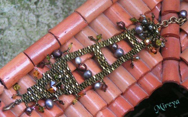 bracelet vert BandB