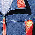2-ROUGE-ORANGE le blouson