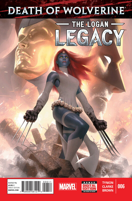 death of wolverine the logan legacy 06