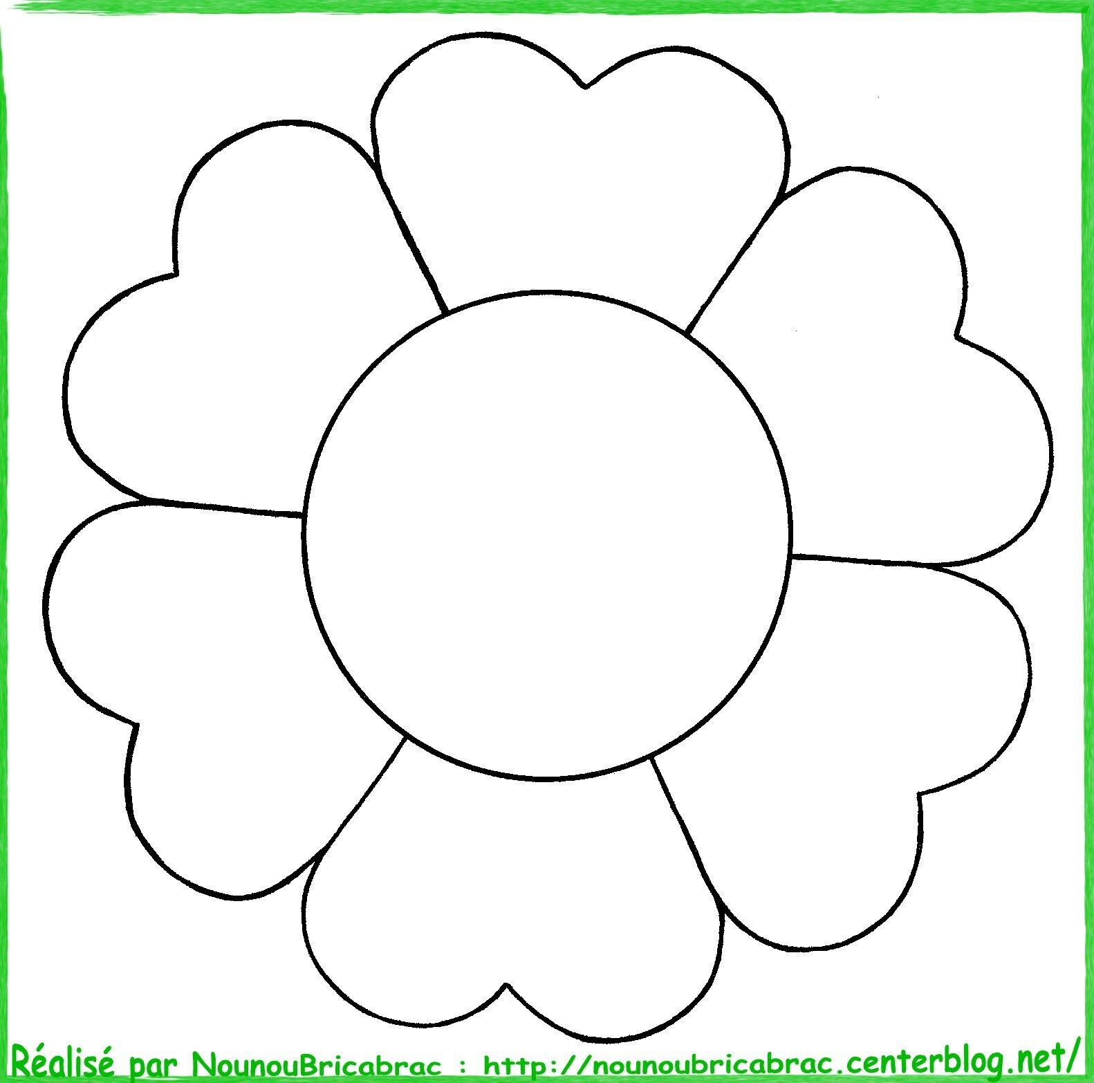 Les loulous de lili - Fleur simple dessin ...