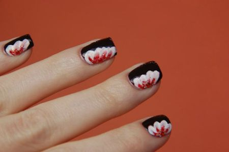 Nail art one stroke 5