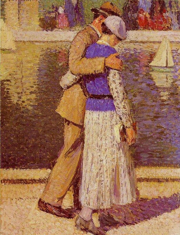 Henri Martin_Couple d'amoureux_1933