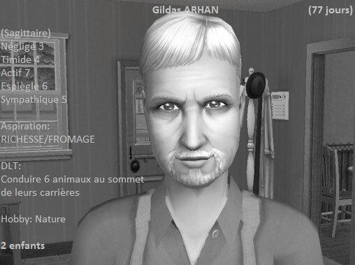 Gildas Arhan (77 jours)