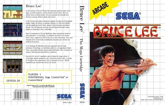 Bruce lee Cover