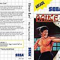 Bruce lee enfin sur sega master system