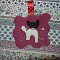 Cadeaux en tricot et patch