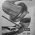 Publicité d'époque - dunlop - avril 1958 - auto d'antan magazine n°4