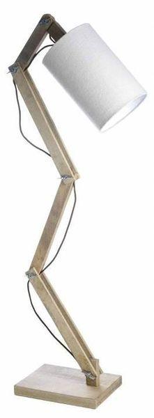 lampe articulé en bois