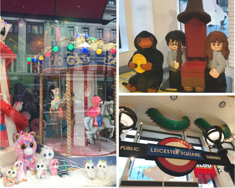 Legostore & Hamley's ©Kid Friendly