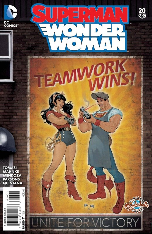 superman wonder woman 20 bombshell variant