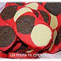 Biscuits arlequin