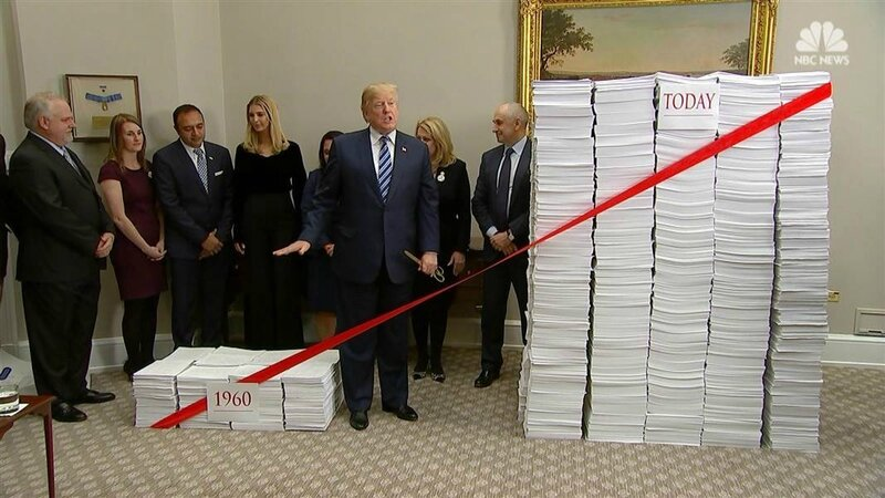 Donald Trump deregulation 2