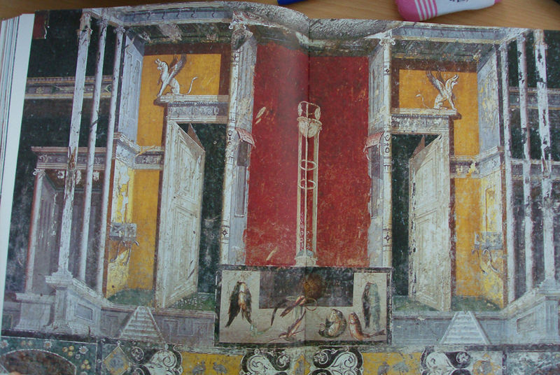 12 Maison de Marcus Lucretius Fronton, tablinium