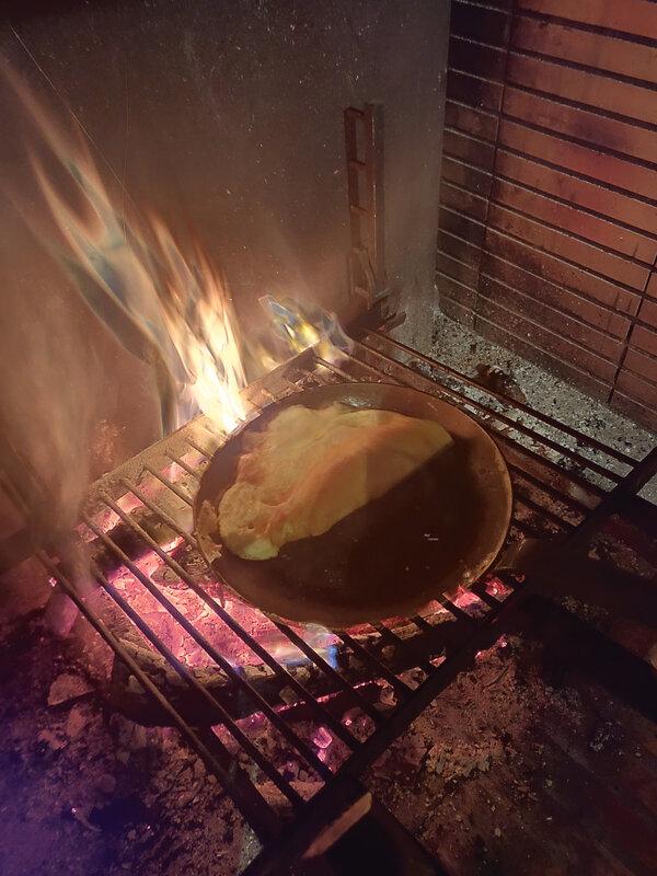 omelette au feu de bois (1)