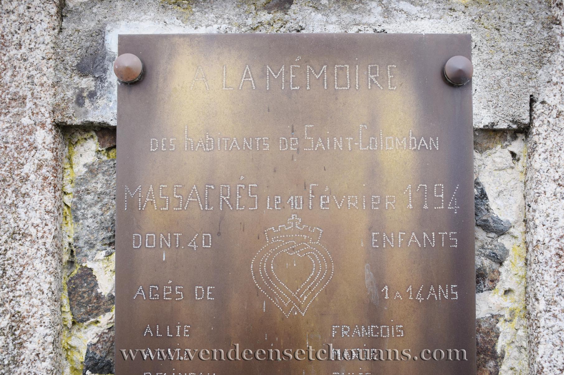 Une famille de martyrs à Saint-Colomban