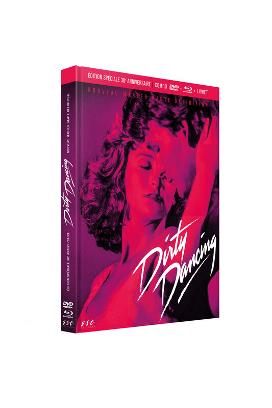 DIRTY DANCING 3D-COMBO MEDIABOOK DVD-BRD