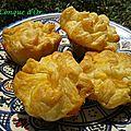 Petits cakes feuilletés aux légumes du soleil