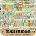 Giga kit festicolor de digiscrap mania
