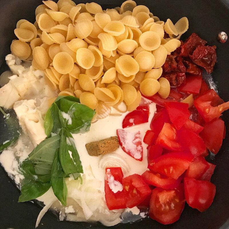 One pot pasta trop bon !