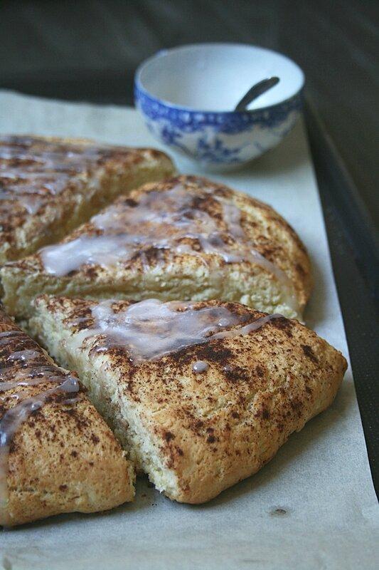 cinnamon scones - passion culinaire Minouchka 3