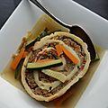 Soupe de légumes aux fleischnacka