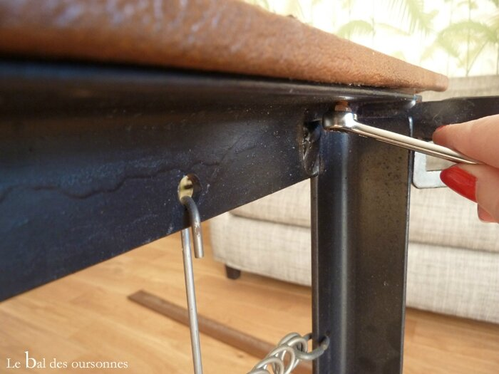101 Daybed Vintage Démontage